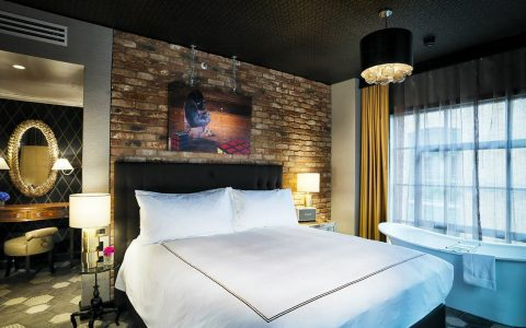 Book a room at The Curtain hotel in London