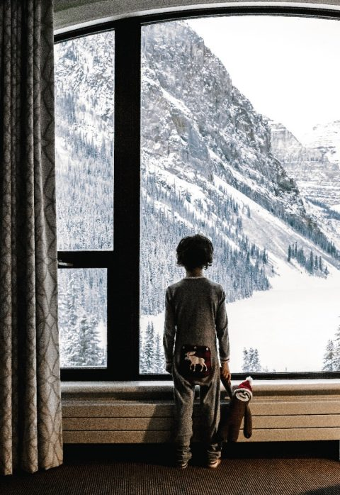 fairmont window child rockies canada
