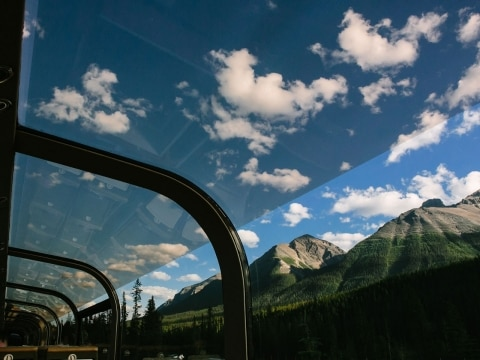 Rocky Mountaineer Glass Dome