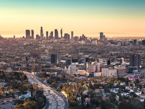 Book a flight to Los Angeles