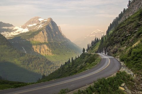 Drive the Going-to-the-sun Road, Montana