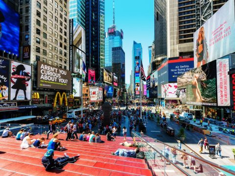 What to Do in and Around New York's Times Square