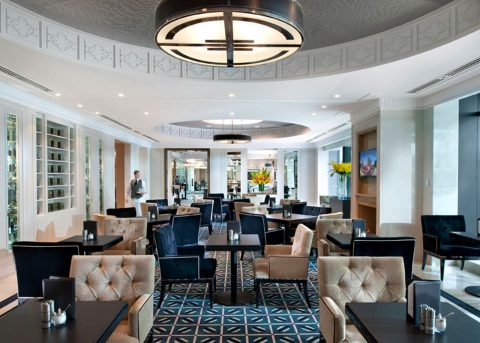 Best Hotel Club Lounge: Crown Towers Melbourne