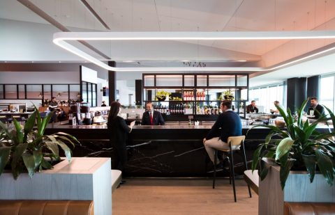 Qantas Melbourne Domestic Business Lounge