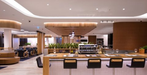 Qantas Perth Domestic Business Lounge