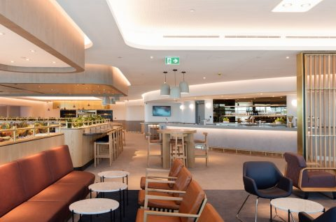 Qantas Brisbane Domestic Lounge