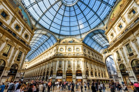See Milan's Galleria
