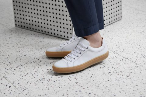 Hugo Boss white sneakers