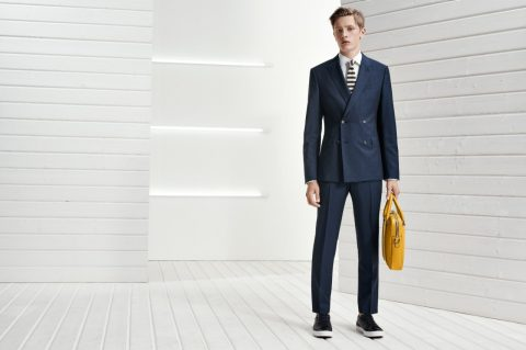 Hugo Boss navy suit