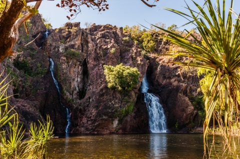 Wang Falls swimming hole, Northern Territory
