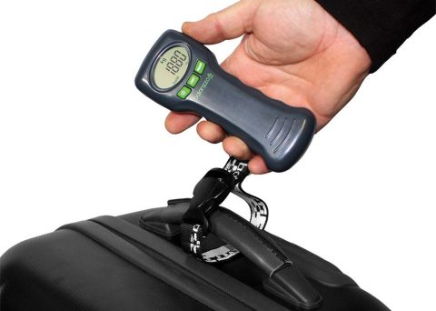 Avoid excess luggage charges with the Balanzza Ergo Digital Luggage Scale