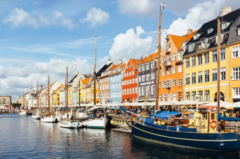 Copenhagen's colourful waterfront
