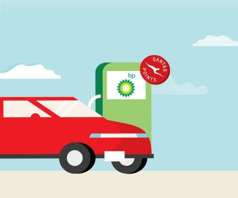 Earn Qantas Points with BP fuel