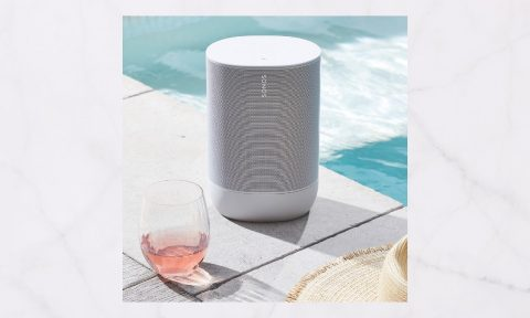 A portable speaker