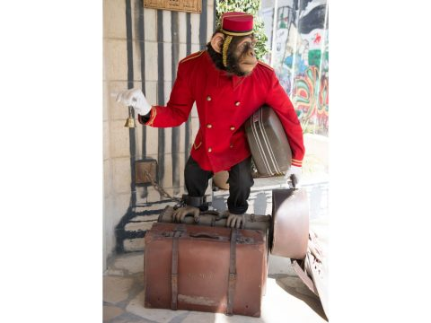 "A welcoming ""bellboy"""
