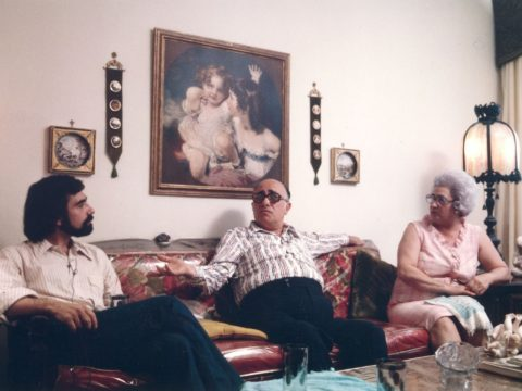 Martin Scorsese and parents