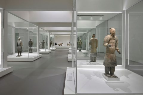 Terracotta Warriors at the NGV, Melbourne