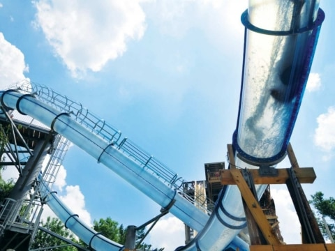 The Scorpion's Tail at Noah's Ark Waterpark, United States