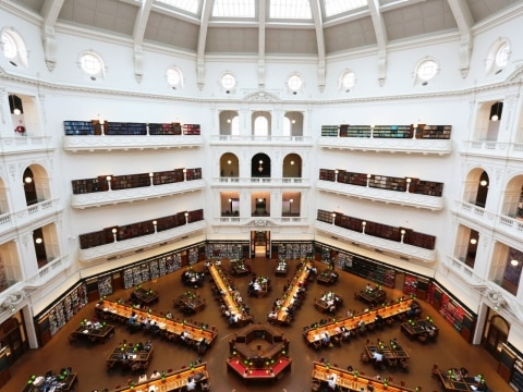 La Trobe Reading Room, Melbourne, Australia