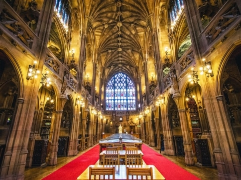 The John Rylands Library, Manchester, England