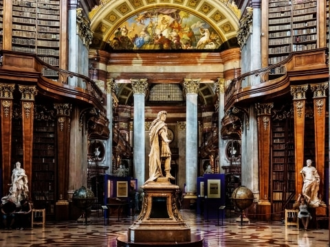 Austrian National Library – Vienna, Austria