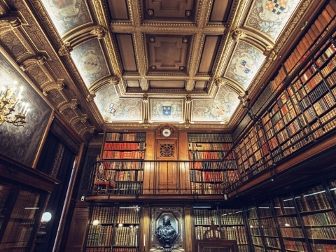 Château de Chantilly library, Chantilly, France