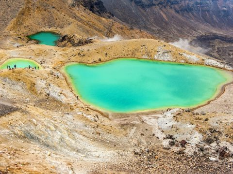 Emerald Lakes, New Zealand