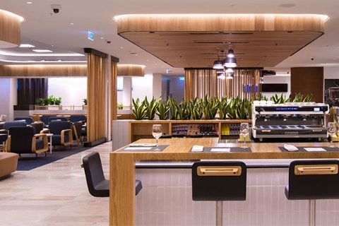 Qantas Business Lounge in Perth