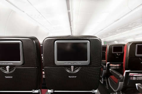 Aircraft seating on QF plane