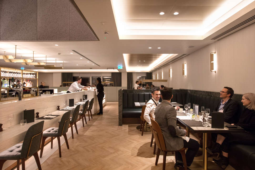 London lounge dining