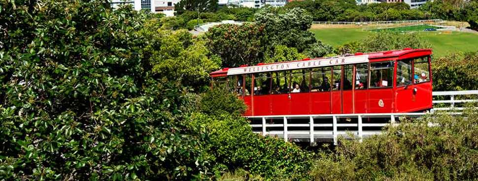 Wellington Red Tram Cable Car