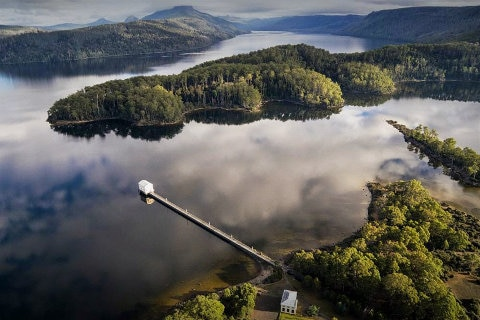 Pumphouse Point Aerial View