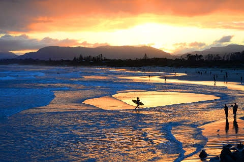 Byron Bay, NSW, at sunset