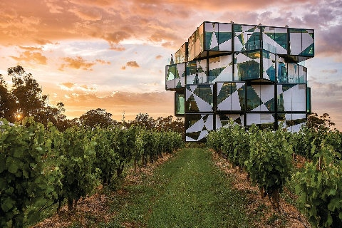 D'arenber Cube in Adelaide