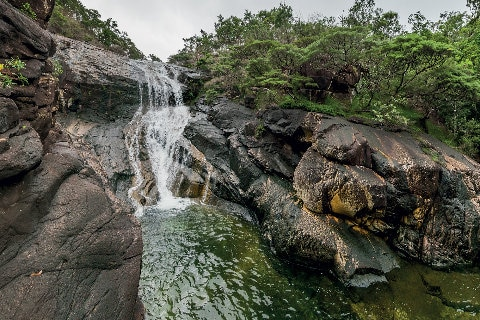 Waterfalls on Hinchinbrook Island