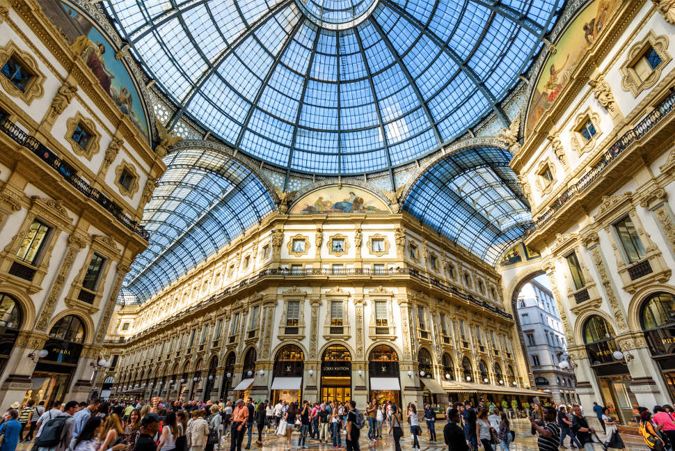 The Galleria Vittorio Emanuele