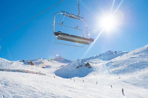 CHair lift in Queenstown