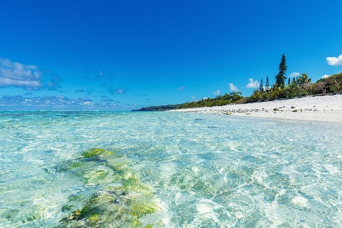 Clear water, Noumea