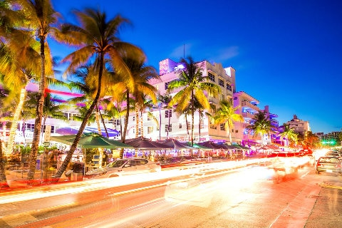 Ocean Drive South Beach, Miami, Florida