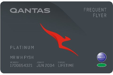 Platinum membership tier card