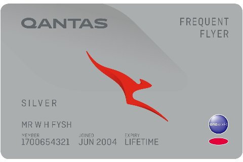 Silver membership tier card