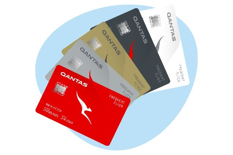 Frequent Flyer membership cards illustrations