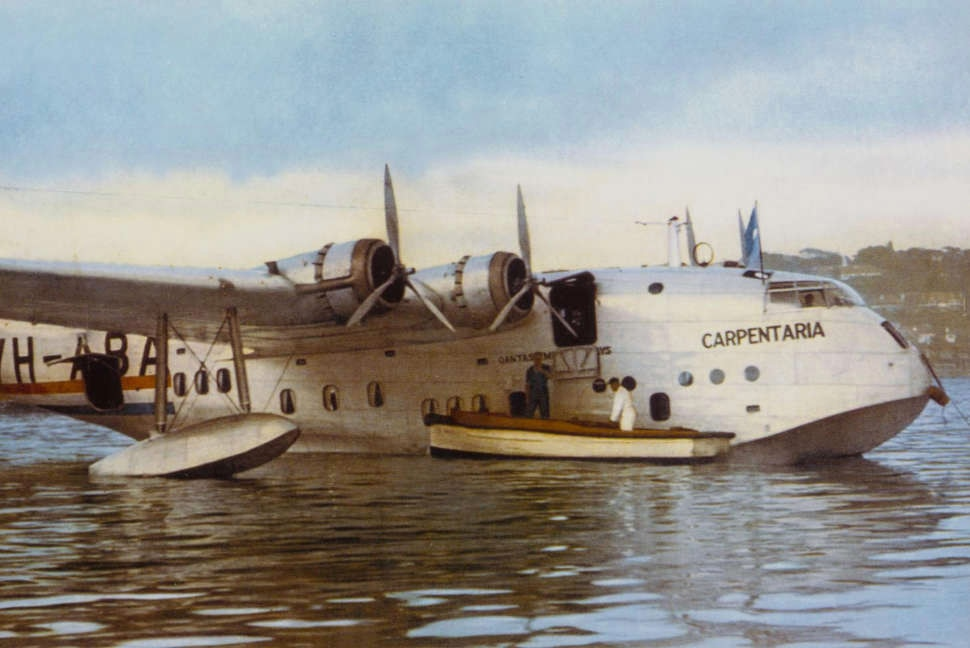 Qantas Carpentaria seaplane