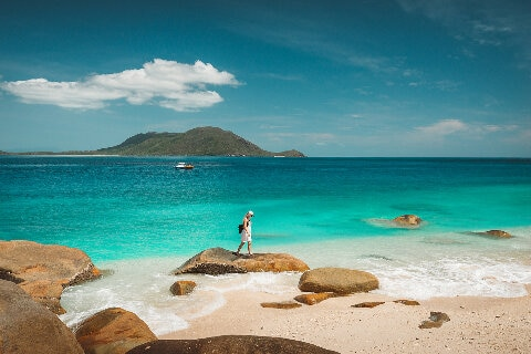 Nudey Beach, Fitzroy Island, Queensland