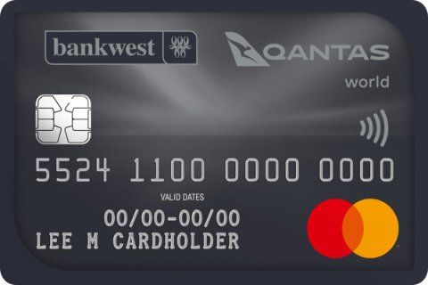 Bankwest Qantas World Mastercard®