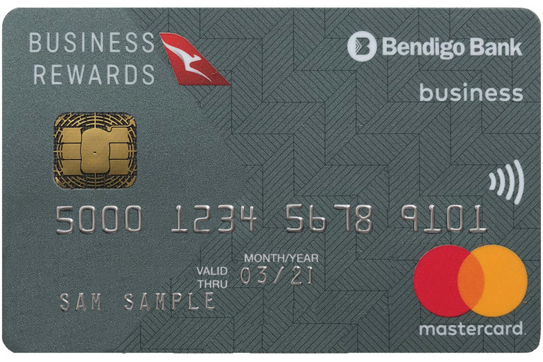 Qantas points earning credit card from bendigo bank qantas bendigo bank qantas business credit card reheart Choice Image