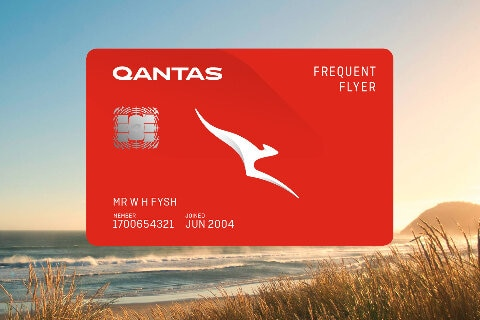 Qantas Frequent Flyer membership card