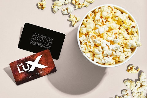 HOYTS Rewards and popcorn