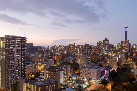 Johannesburg city, South Africa