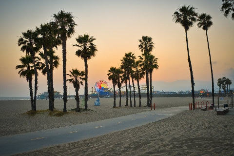 Los Angeles beach front